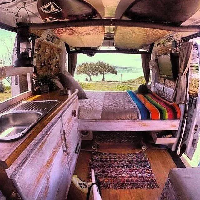 Badass DIY Camper Van Inspiration 54