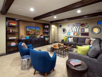 Basement Playroom Ideas 106