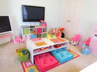Basement Playroom Ideas 23