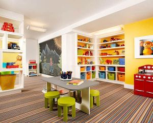 Basement Playroom Ideas 35