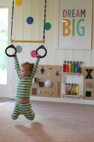 Basement Playroom Ideas 45