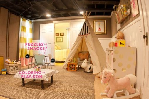 Basement Playroom Ideas 55