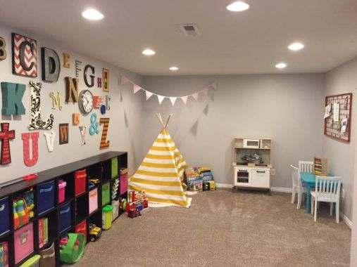 Best Basement Playroom Design Ideas