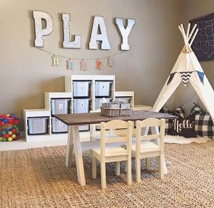 Basement Playroom Ideas 75