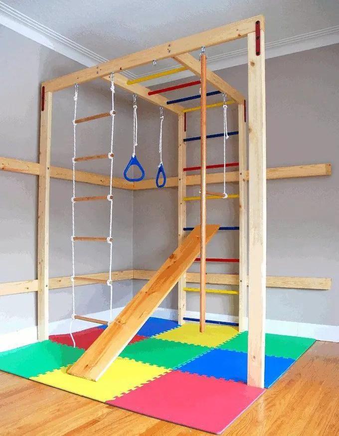 Basement Playroom Ideas 76