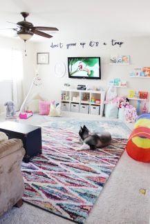 Basement Playroom Ideas 77