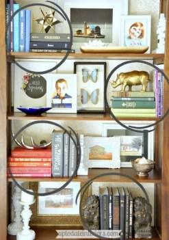 Bookshelf Styling Tips, Ideas, And Inspiration 24