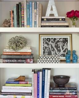 Bookshelf Styling Tips, Ideas, And Inspiration 28