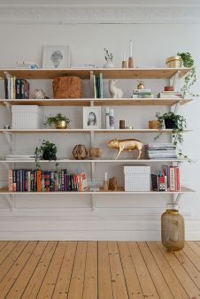 Bookshelf Styling Tips, Ideas, And Inspiration 36