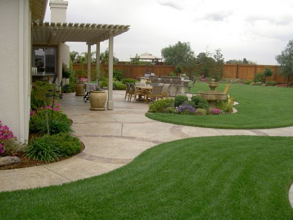 Design For Backyard Landscaping 64