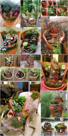 Magical And Best Plants DIY Fairy Garden Inspirations 41