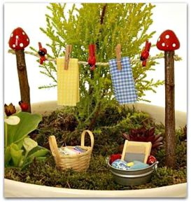 Magical And Best Plants DIY Fairy Garden Inspirations 43