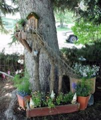 Magical And Best Plants DIY Fairy Garden Inspirations 54