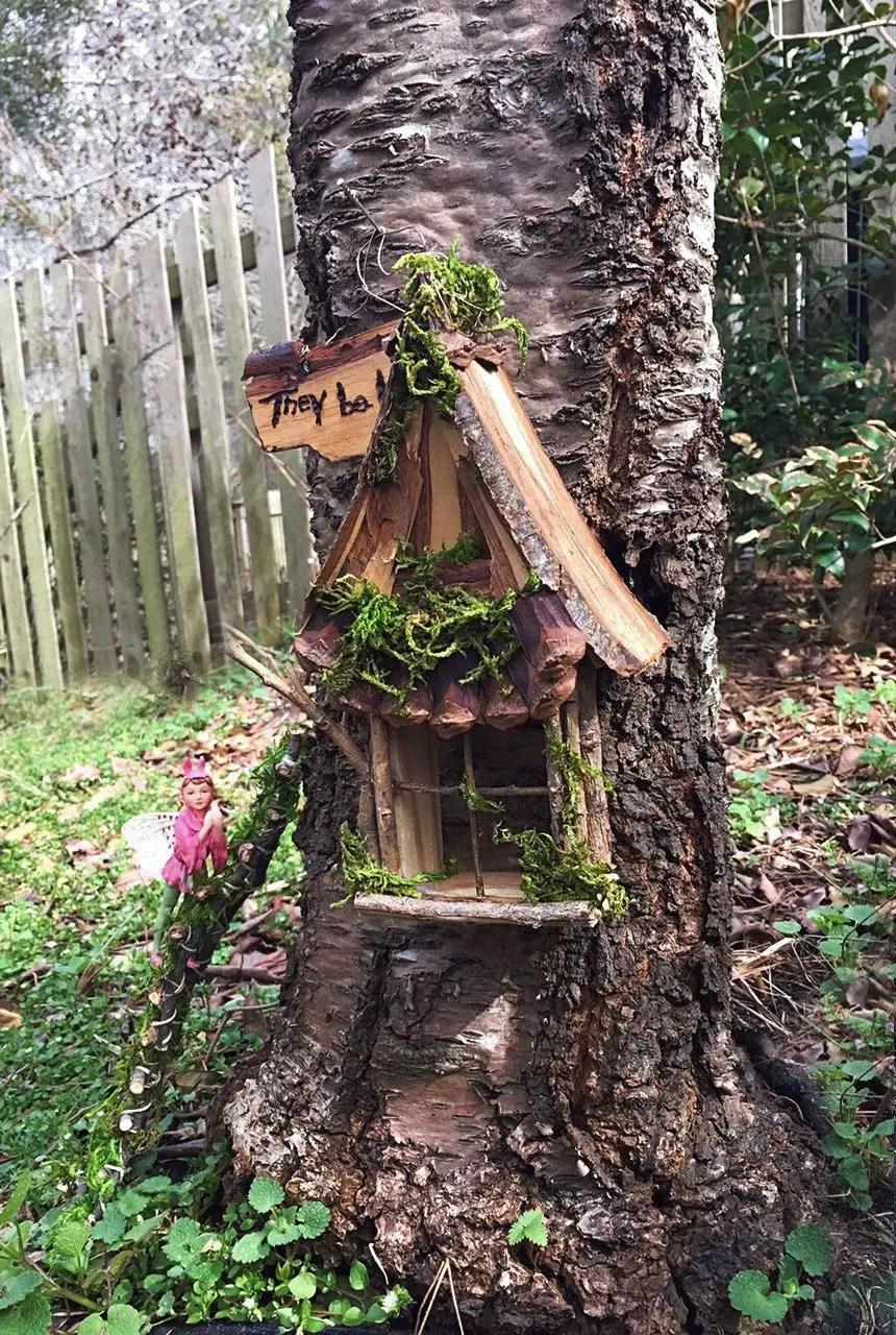 backyard fairy garden ideas