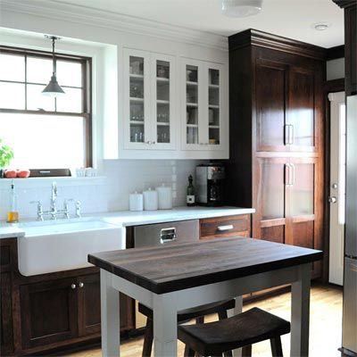Modern Walnut Kitchen Cabinets Design Ideas 22