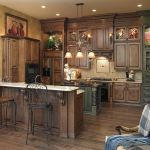 Modern Walnut Kitchen Cabinets Design Ideas 25