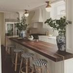 Modern Walnut Kitchen Cabinets Design Ideas 35