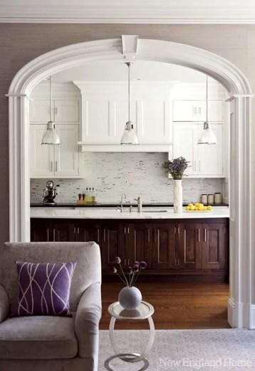 Modern Walnut Kitchen Cabinets Design Ideas 40