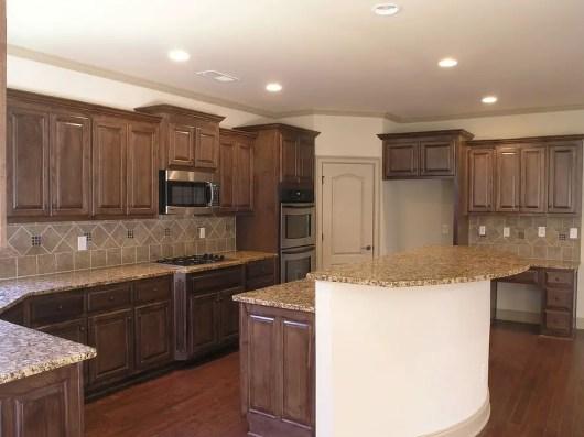 Modern Walnut Kitchen Cabinets Design Ideas 41
