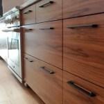 Modern Walnut Kitchen Cabinets Design Ideas 45