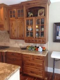 Modern Walnut Kitchen Cabinets Design Ideas 51