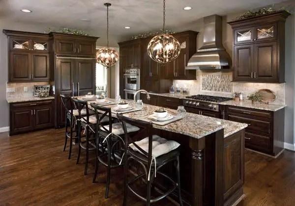 fascinating modern walnut kitchen cabinets | Modern Walnut Kitchen Cabinets Design Ideas 56 - decoratoo