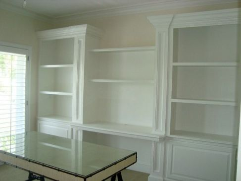 Office Built In Cabinets Ideas 18