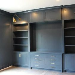 Office Built In Cabinets Ideas 20