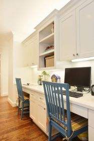 Office Built In Cabinets Ideas 23