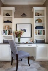 Office Built In Cabinets Ideas 31