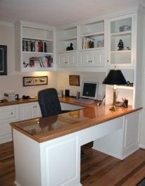 Office Built In Cabinets Ideas 51