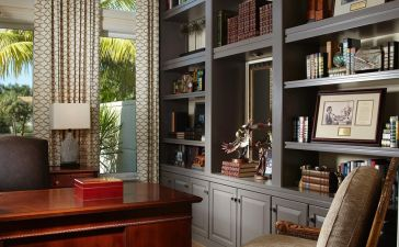 Office Built In Cabinets Ideas 52