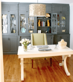 Office Built In Cabinets Ideas 72