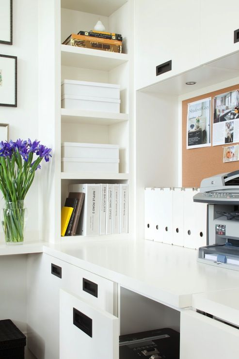 Office Built In Cabinets Ideas 8