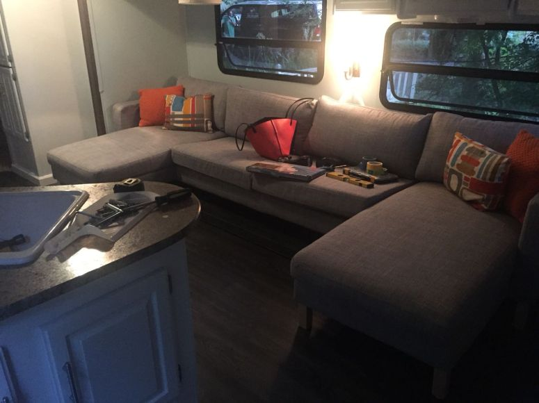 RV Hacks, Remodel And Renovation Ideas That Will Make You A Happy Camper78