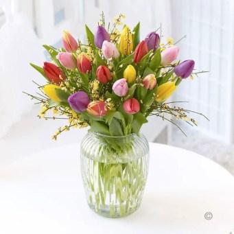 Tulips In Vase 74