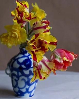 Tulips In Vase 9