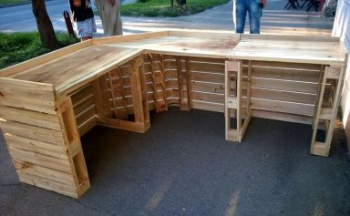 Wood Pallet Furniture 27