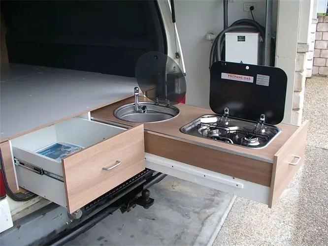 Camper Van Interior Ideas 13