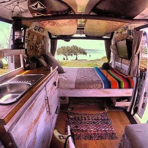 Camper Van Interior Ideas 16