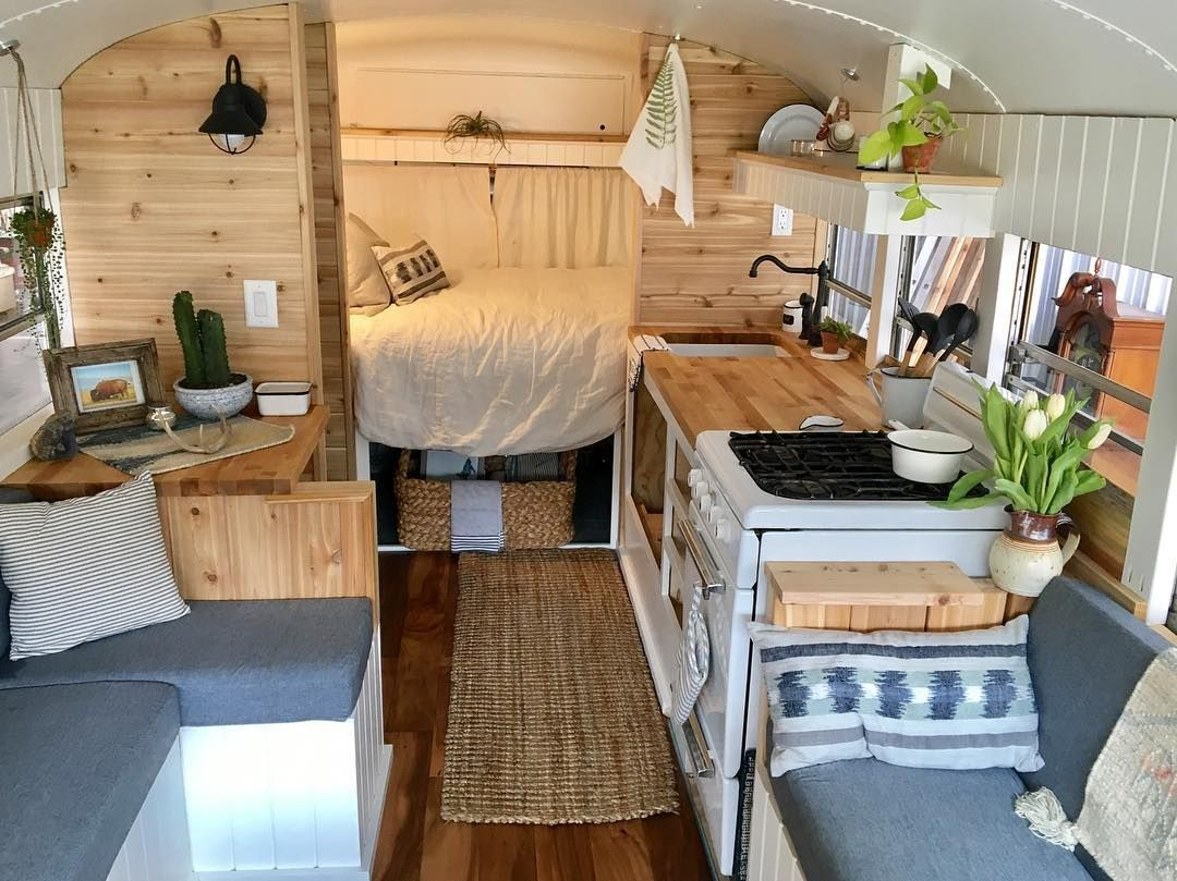 Camper Van Interior Ideas 20