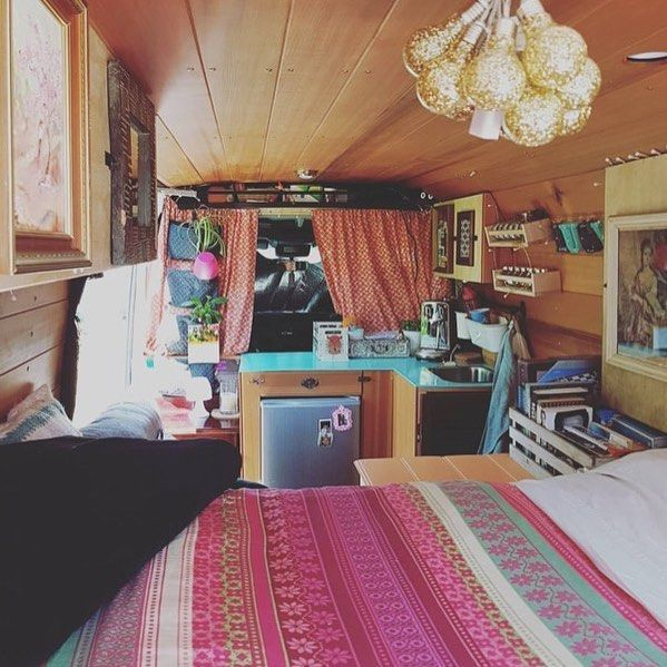 Camper Van Interior Ideas 70