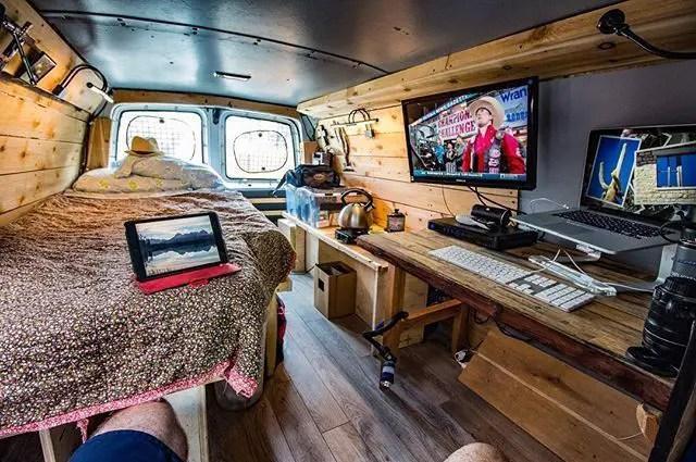 Awesome Camper Van Interior Ideas 9 Idea