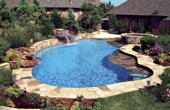 Beautiful Backyards With Pools 137