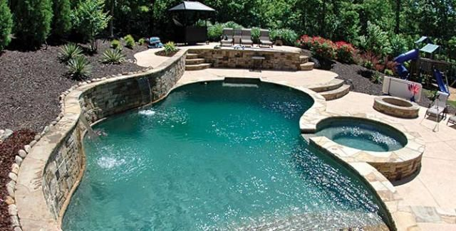 Beautiful Backyards With Pools 53
