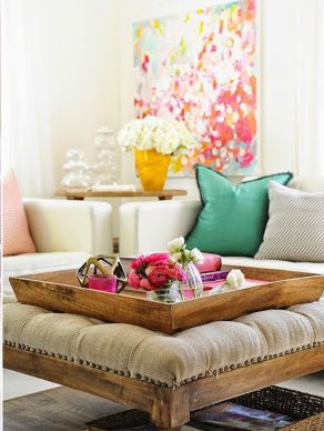 Bright Living Room Decor Ideas 11