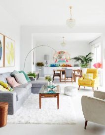 Bright Living Room Decor Ideas 142