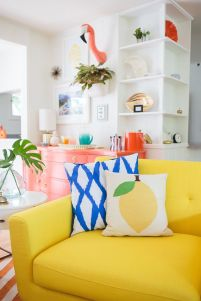 Bright Living Room Decor Ideas 92