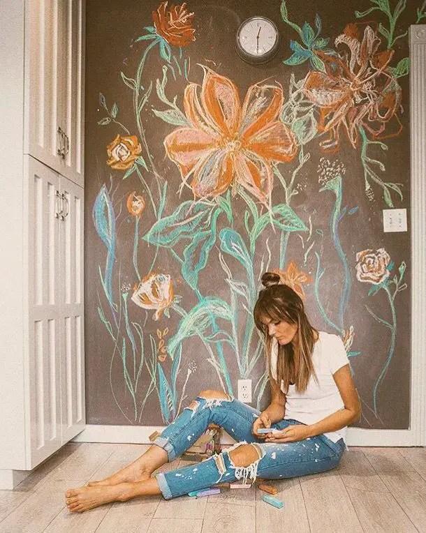 Chalk Wall Bedroom Ideas 126