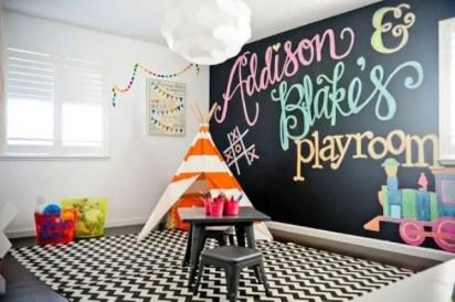 Chalk Wall Bedroom Ideas 13